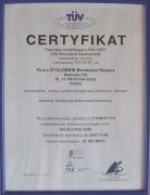 TÜV CERT Rheinland InterCert Kft. z grudnia 2004 r.