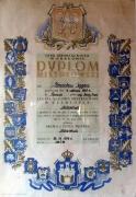 Dyplom Mistrzowski